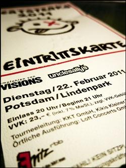 Die Beatsteaks in Potsdam