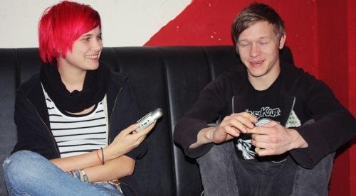 Dick und Trip von Cryssis im Lieblingstape Interview - Foto: Ully Pröschild