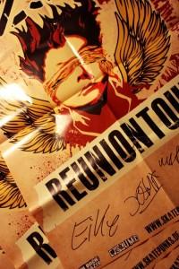 Gewinnt eines von drei signierten Reunion-Plakaten!