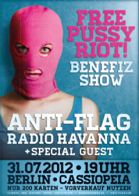 Free Pussy Riot Benefiz