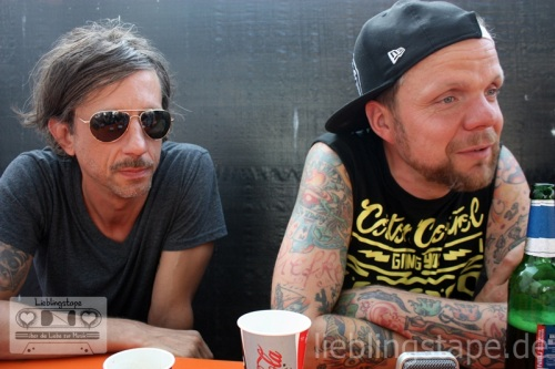 Thomas & Torsten (Beatsteaks) im Interview - Foto: Arabell Walter