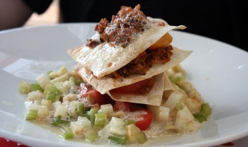 Vegetarische Lasagne - Foto: Arabell Walter