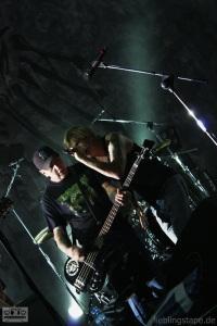 CJ Ramone und Campino beim Soundcheck am 15/09/12 - Foto: Arabell Walter