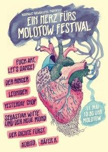 Ein Herz fürs Molotow - Festival